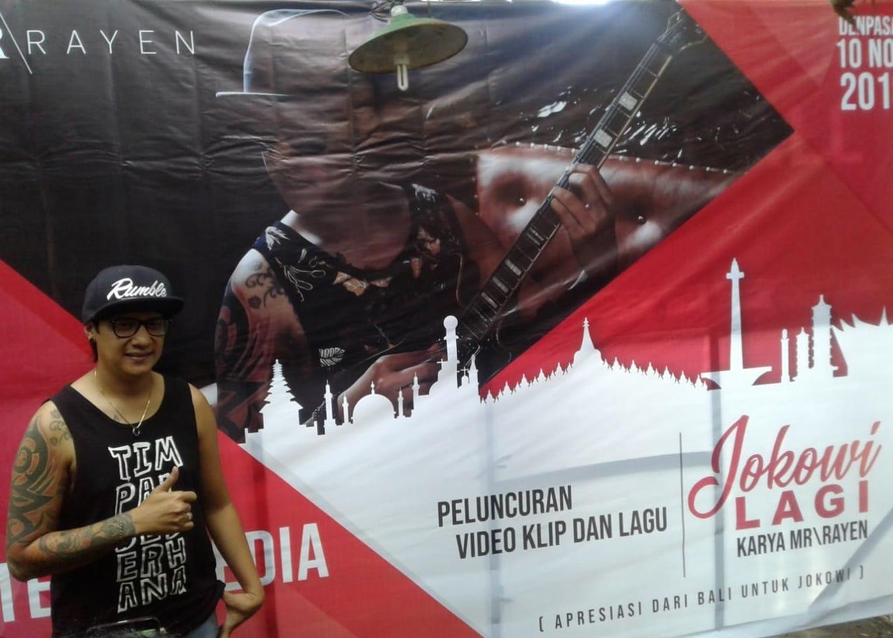 "Musisi Bali Bikin Lagu Berjudul ""Jokowi Lagi"" | The East"