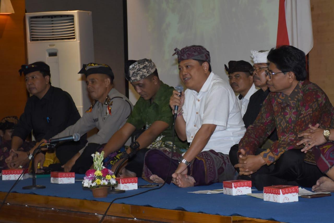 Pemuda Pemudi Kota Denpasar Sepakati Pawai Ogoh Ogoh Tanpa