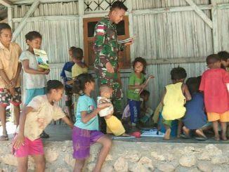 Mengisi Waktu Luang Anak Perbatasan, Dengan Belajar Dan Bermain/theeast.co.id