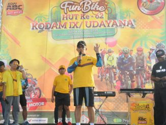 Meriahkan HUT ke-62 Kodam IX/Udayana dengan Fun Bike, Pangdam : Sehat Itu Mahal/theeast.co.id
