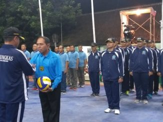 Kodim Magelang Menjaring Bibit Atlit Bola Volly Muda/theeast.co.id