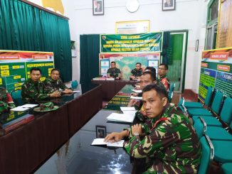 Kodim Tulungagung Gelar Briefing Pelaku Persiapan Latihan Posko I Merak Jaya XIX/theeast.co.id