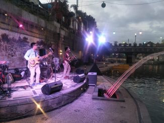 Road Show Bali Blues Festival Hibur Pengunjung Taman Kumbasari Tukad Badung/theeast.co.id