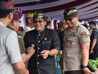 Kapolres Badung Hadiri Festival Budaya Pertanian ke-8 Tahun 2019./theeast.co.id