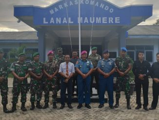 Pelatihan Dan Pembekalan JUrnalistik Oleh Ketua DPW MOI NTT Di Lanal Maumere/theeast.co.id