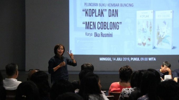 Dua Buku Kembar Buncing Karya Oka Rusmini Diluncurkan Di Bentara Budaya Bali/theeast.co.id