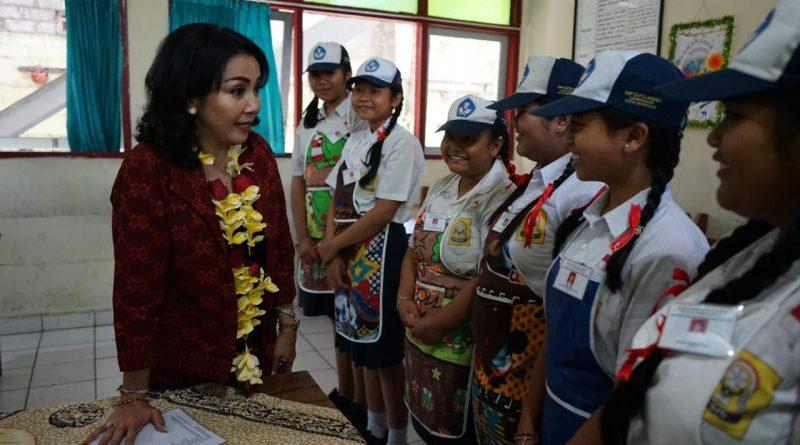 Cegah Kanker, Pemkot Denpasar Gelar PKTP Ke Sejumlah Sekolah/theeast.co.id