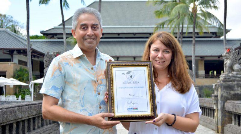 Intercontinental Bali Resort Dianugrahi Hotel Keluarga Terbaik Kedua Di Asia OLeh Smart Travel Asia/theeast.co.id