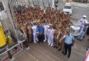 KJK Taruna AAL Lanjutkan Pelayaran KRI Bima Suci Ke Jepang/theeast.co.id