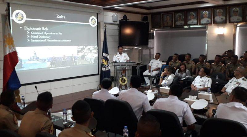 KJK Taruna AAL Kunjungan Ke Angkatan Laut Filipina/theeast.co.id