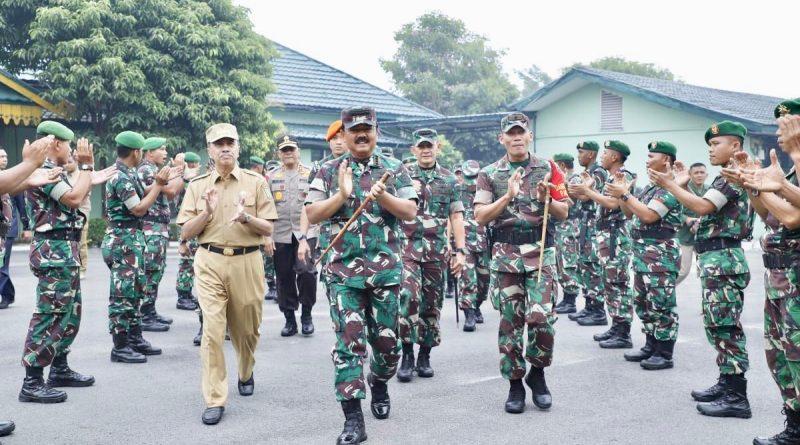 Panglima TNI Kunjungi Makorem 031/Wirabima/theeast.co.id