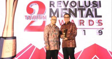 PT Angkasa Pura I Raih Dua Penghargaan Revolusi Mental Award BUMN Tahun 2019/theeast.co.id