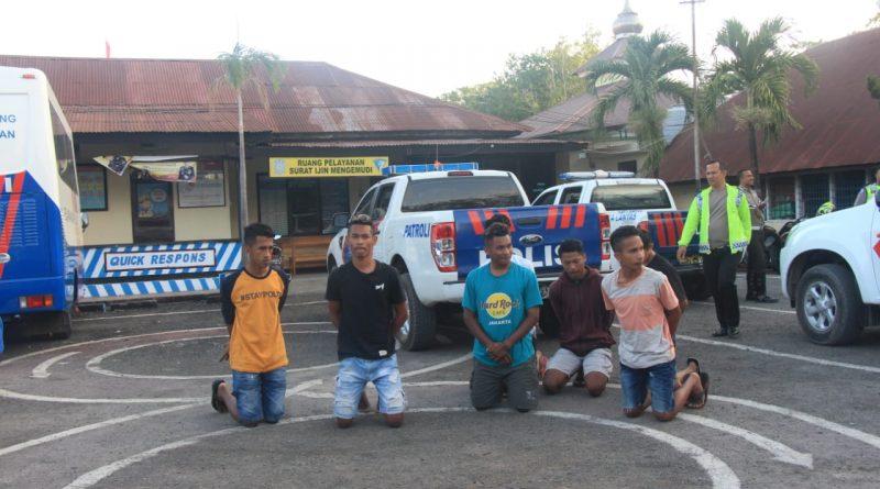 Sat Lantas Polres Belu Tertibkan Pembalap Liar Di Batas RI-RDTL/theeast.co.id