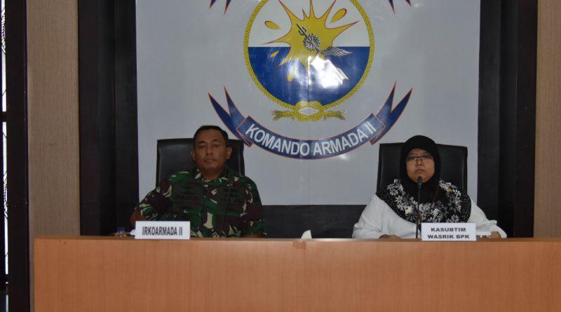 Koarmada II Siap Di Wasrik BPK RI/theeast.co.id