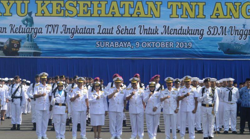 Kepala Staf Koarmada II Hadiri Acara Hari Kesehatan TNI AL ii RSAL dr.Ramelan/theeast.co.id