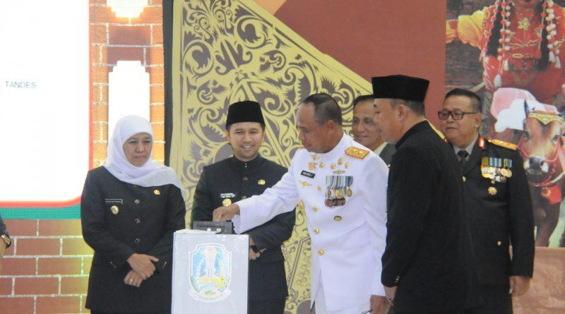 Pangkoarmada II Hadiri Upacara Peringatan Hut ke-74 Provinsi Jatim/theeast.co.id