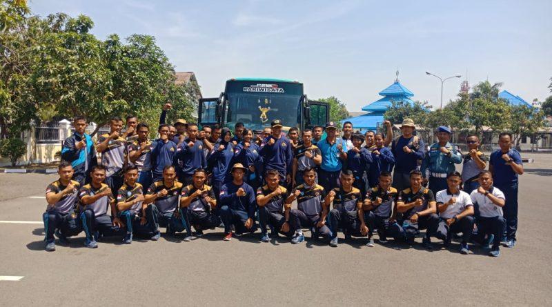 Kontingen Koarmada II Siap Bertarung di Kompetisi Olah Raga Perairan Hut TNI Tahun 2019/theeast.co.id