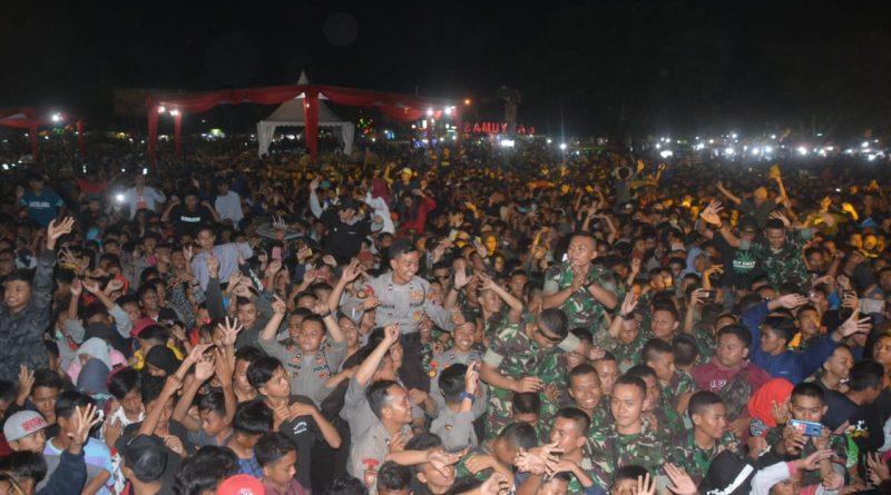 Meriah, Malam Panggung Prajurit, Sinergitas Banyumas/theeast.co.id