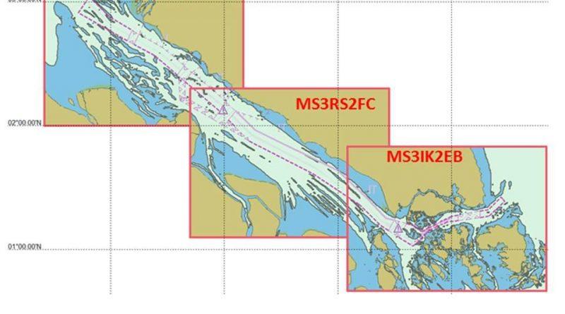 Tiga Negara Terbitkan Peta Laut Elektronik Selat Malaka-Singapura Edisi Terbaru/theeast.co.id