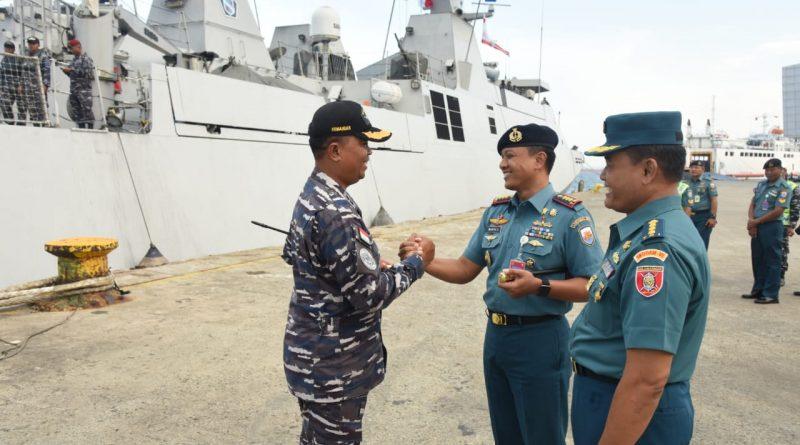 Satgas Port Visit 2019 Singgah di Balikpapan/theeast.co.id