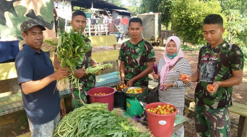 Berharganya Sayur-Sayuran di Tapal Batas RI - Malaysia/theeast.co.id