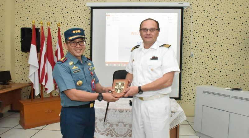 Koarmada II Terima Kunjungan Delegasi Angkatan Laut Jerman/theeast.co.id