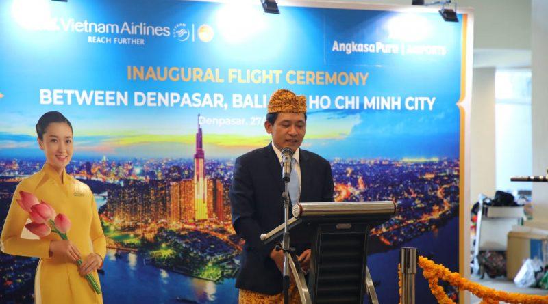 Vietnam Airlines Terbang Perdana ke Ngurah Rai/theeast.co.id