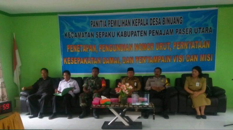 Babinsa dan Babinkantibmas Binuang Aktif Kawal Pemilihan Kepala Desa di Wilayah Binaan/theeast.co.id