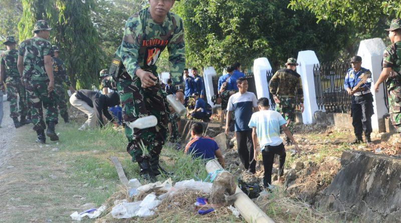 Jelang Hari Pahlawan, Kodim 1407/Bone Kerahkan Personelnya Ke TMP/theeast.co.id