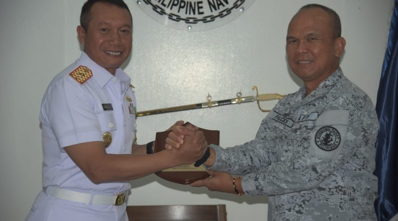 Dalam Rangka Latma MTA Philindo I/2019, Danguskamla Koarmada II Laksanakan Coutessy Call di Naval Force Eastern Mindanao/theeast.co.id