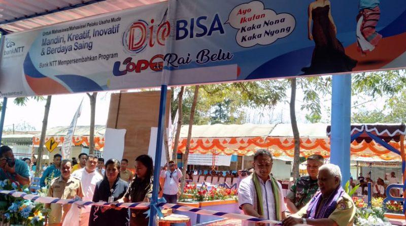 "Wabup Belu Launching ""Lopo Dia Bisa"" Bank NTT/theeast.co.id"