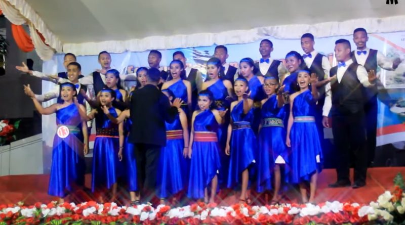 Voka Aruditans UNIKA Kupang Juara 1 Lomba Festival Paduan Suara Gerejawi Indonesia - Timor Leste/theeast.co.id