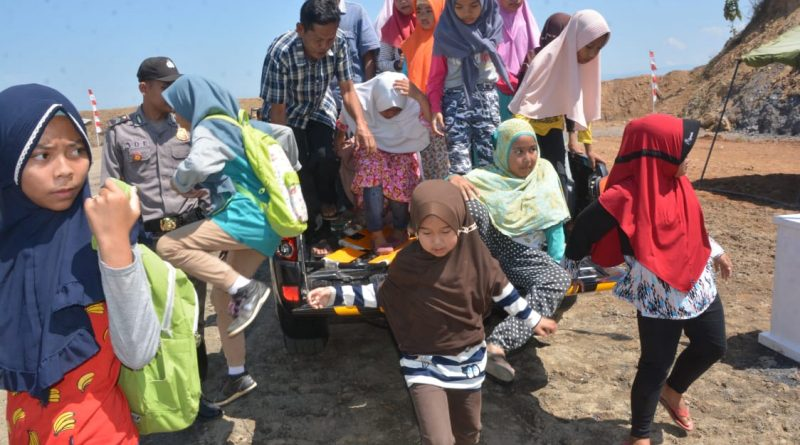Ratusan Warga Kebutuhjurang Ikuti Simulasi Kesiapsiagaan Bencana Alam/theeast.co.id