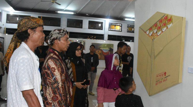 Lukisan Seharga Rp 200 juta Dipamerkan di BAF /theeast.co.id