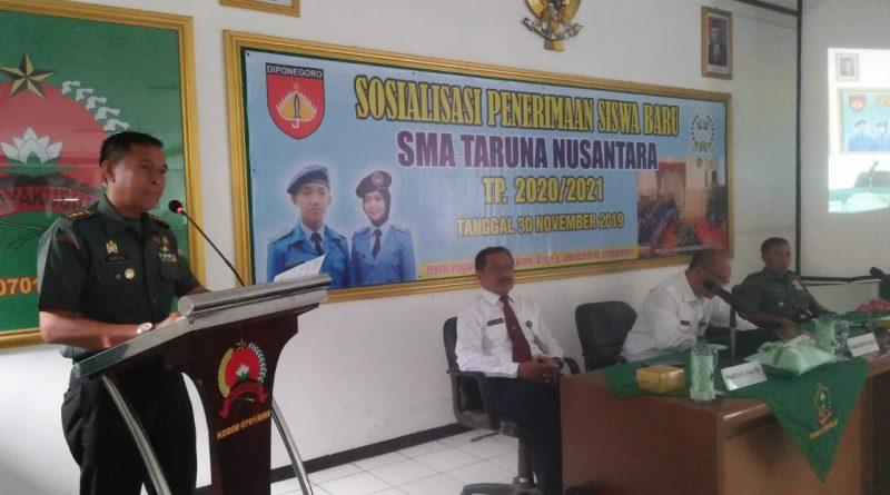 LPTTN Sosialisasikan Casis SMA Taruna Nusantara di Banyumas/theeast.co.id