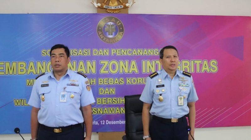 RSAU dr. Esnawan Antariksa Halim Perdanakusuma Canangkan Zona Integritas Menuju Wilayah Bebas Korupsi/theeast.co.id