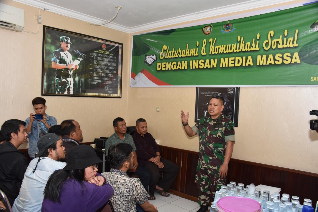 Kapenrem 091/ASN Komsos, Ajak Wartawan Manfaatkan Media Center/theeast.co.id