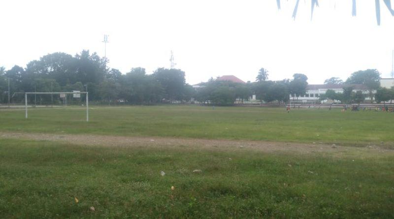 Pemda Belu Segera Benahi Lapangan Sepak Bola Simpang Lima Atambua dan Stadion Haliwen/theeast.co.id