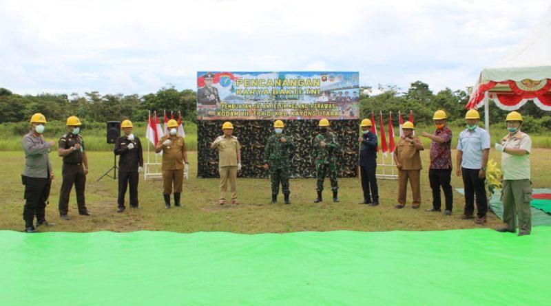 Dukung Program Desa Mandiri, Kodam XII/Tpr Buka Jalan Melano - Prawas/theeast.co.id