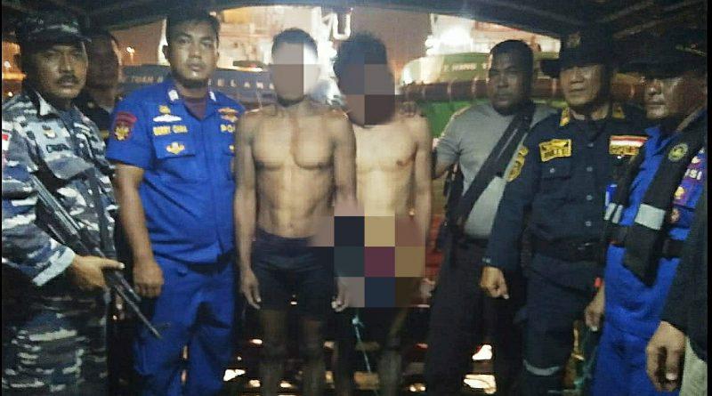 Unsur Patroli Lantamal I Tangkap Dua Pelaku yang Merencanakan Pencurian/theeast.co.id