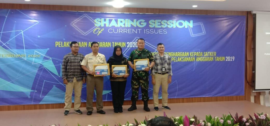Pushidrosal TNI AL Raih Penghargaan dari KPPN Jakarta/theeast.co.id