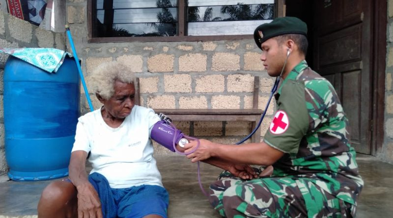 Satgas Raider 300 Peduli Kesehatan Masyarakat/theeast.co.id