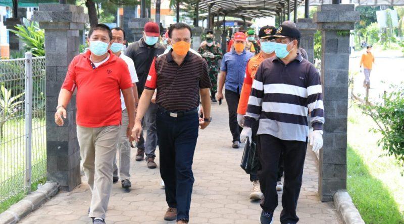 Pastikan SOP Penanganan dan Pengawasan Selaras, Ketua Satgas Covid-19 Bali Meninjau Pintu Masuk Pelabuhan Gilimanuk/theeast.co.id