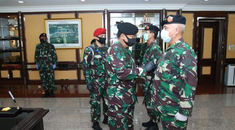 Panglima TNI Pimpin Sertijab Kepala Badan Pembinaan Hukum/theeast.co.id
