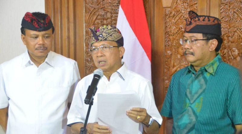Gubernur Bali Keluarkan Instruksi Perkuat Pencegahan dan Penanganan Covid-19 di Bali/theeast.co.id