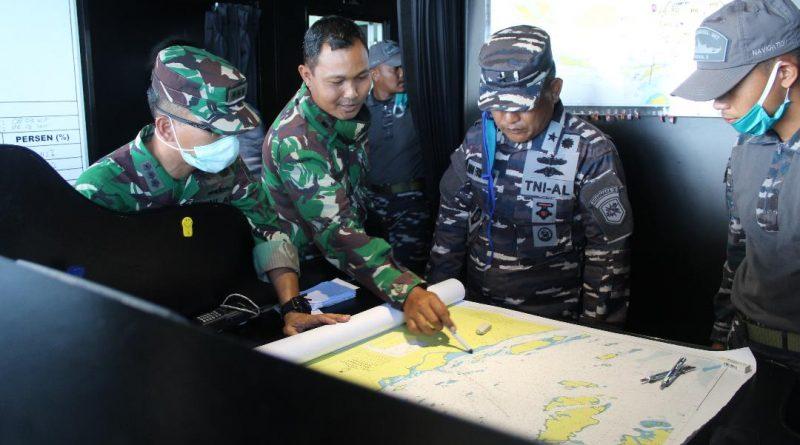 Pastikan Alur Aman Dilayari, Pushidrosal Survei Hidro-Oseanografi di Perairan Drmaga Koarmada III Sorong, Papua Barat/theeast.co.id