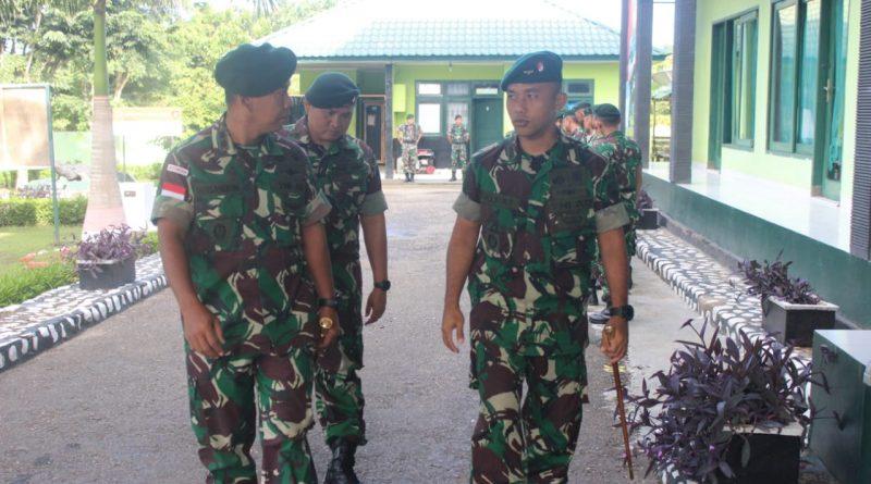 Satgas Pamtas RI-RDTL Yonif Raider 142/KJ Terima Tim Peninjau Daerah Operasi Yonif RK 744/SYB/theeast.co.id