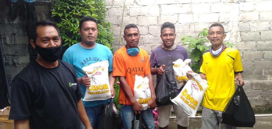 Giliran IKB Malesama Bali Berbagi di Tengah Pandemi Covid19/theeast.co.id
