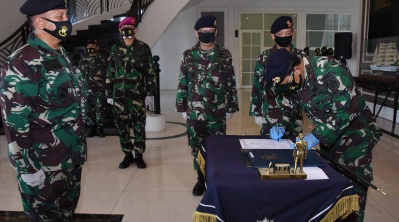 Gubernur Akademi Angkatan Laut Kukuhkan Dirrenbang AAL/theeast.co.id