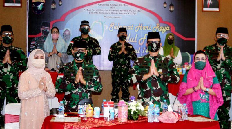 Pelihara Silaturahmi Halal Bihalal Kodam XII/Tpr Digelar secara Virtual/theeast.co.id